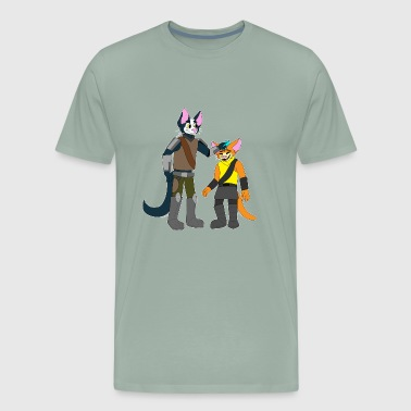 Reseller Avocato and Little Cato - Men's Premium T-Shirt