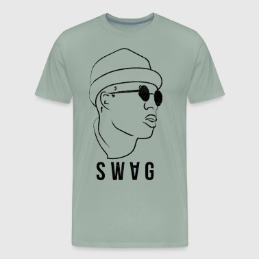 swag style vintage design - Men's Premium T-Shirt