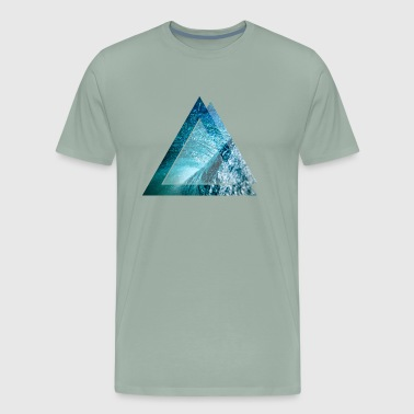 water wave - Men's Premium T-Shirt