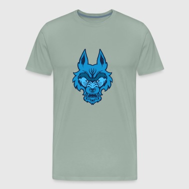 Blue Wolf - Men's Premium T-Shirt