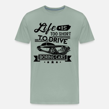 Car Lover Muscle Car Lovers Shirt - Men's Premium T-Shirt