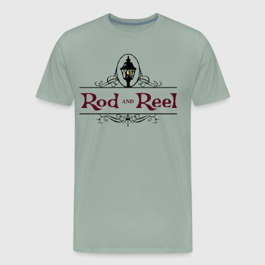 Rod and Reel Resort Logo - Men's Premium T-Shirt