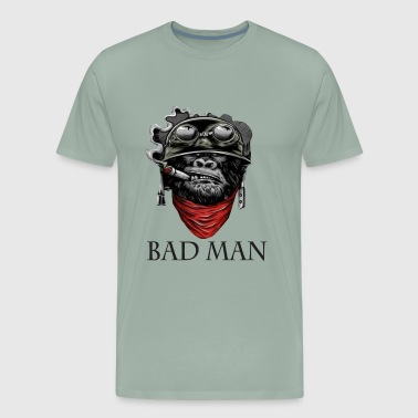 bad man - Men's Premium T-Shirt