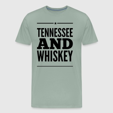Tennessee and Whiskey - Men's Premium T-Shirt