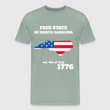 4th of July Independence Day North Carolina - Men's Premium T-Shirt