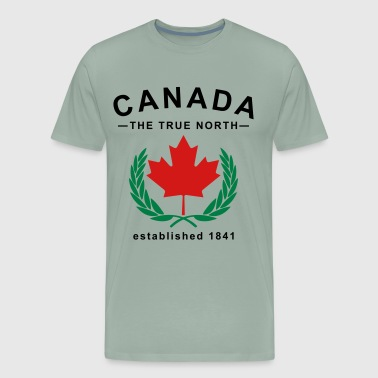 Canada The True North Design - Men's Premium T-Shirt