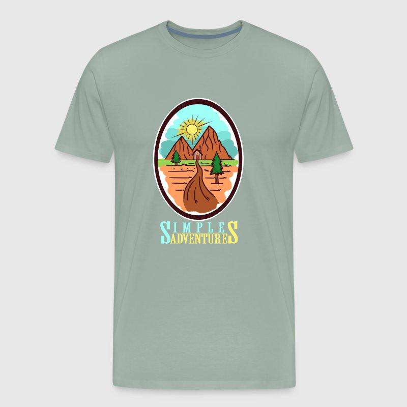 6cb31e5bde6475 Simple Adventures - Travel by AlsterUmzu Shirt   Spreadshirt