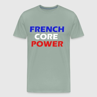 Frenchcore Power simple Men / Women - Men's Premium T-Shirt