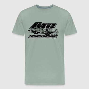 Shop blueprint t shirts online spreadshirt a 10 thunderbolt ii men39s premium malvernweather Gallery