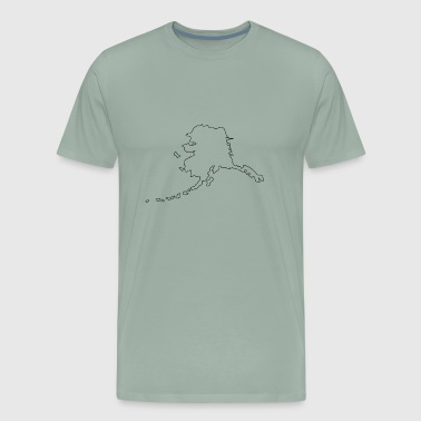 Alaska Is Home ALASKA Home - Men's Premium T-Shirt