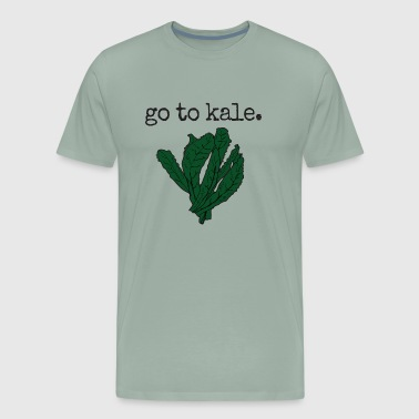 go to kale. (kale) - Men's Premium T-Shirt