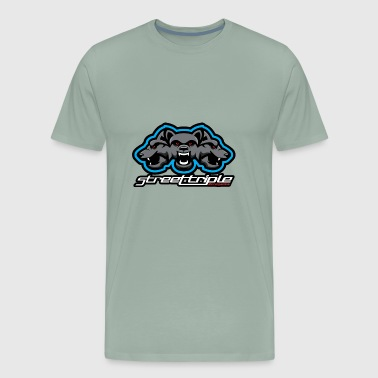 Street Triple Dogs - Men's Premium T-Shirt
