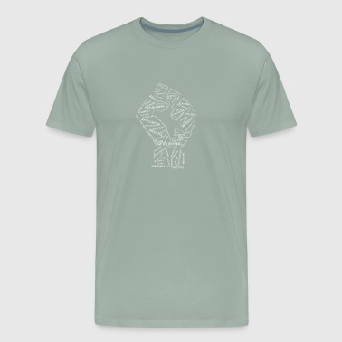 Historical Fist - Men's Premium T-Shirt