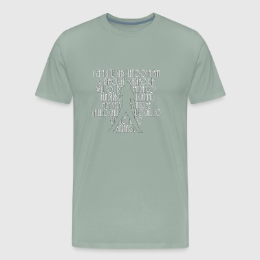 Bohemian Rhapsody Lyrics - Men's Premium T-Shirt