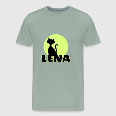 Lena first name - Men's Premium T-Shirt