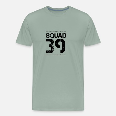 Number 39 Team Verein Squad paintball Crew jga malle 39 - Men's Premium T-Shirt