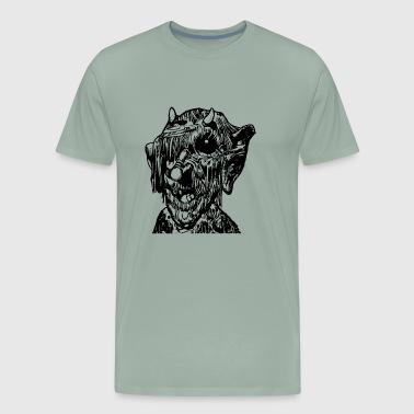 Scary Monster - Men's Premium T-Shirt