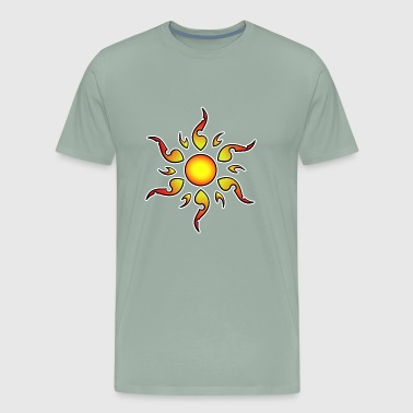 Sun Tattoo Style - Men's Premium T-Shirt