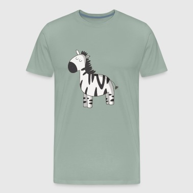 zebra - Men's Premium T-Shirt