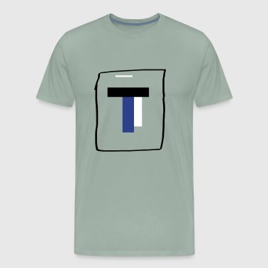 T2 youtube merch - Men's Premium T-Shirt