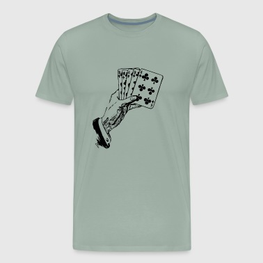 Playing Cards - Men's Premium T-Shirt