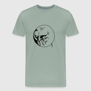 Meme Face NO Meme - Men's Premium T-Shirt