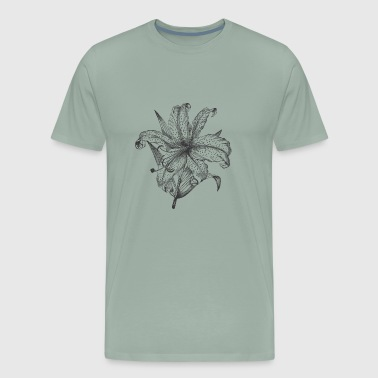 Lilly Engraved Lilly - Men's Premium T-Shirt