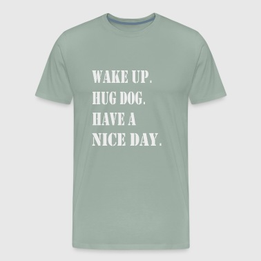 Hug the dog - Men's Premium T-Shirt