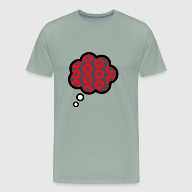Donut Thoughts - Men's Premium T-Shirt