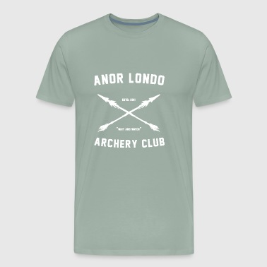 ANOR LONDO ARCHERY CLUB - Men's Premium T-Shirt