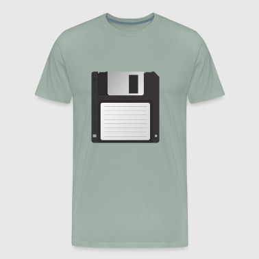 Floppy Disk Diskette CD Data Stiffy Drive Gift - Men's Premium T-Shirt