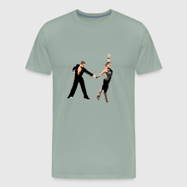 latin dance - Men's Premium T-Shirt