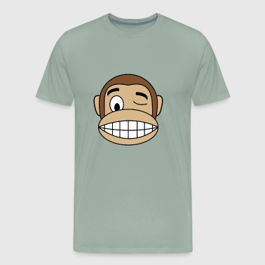 Cute Monkey - Men's Premium T-Shirt