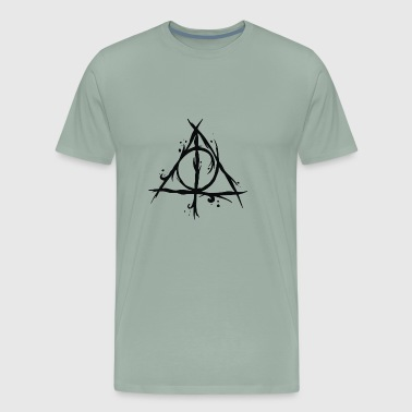 Deathly Hallows - Men's Premium T-Shirt
