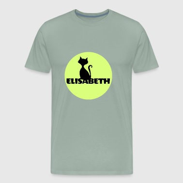 Elisabeth first name - Men's Premium T-Shirt