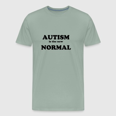 Epidemic Autism is the new Normal - Men's Premium T-Shirt