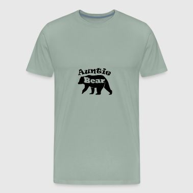 Auntie Bear - Men's Premium T-Shirt