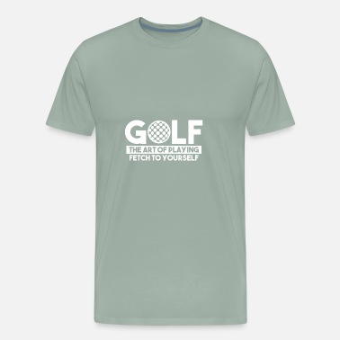 Greenkeeper GOLF - Men's Premium T-Shirt