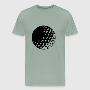 Golf - Golf ball - Men's Premium T-Shirt