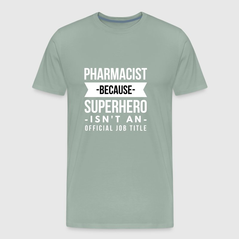 Pharmacist Superhero - Men's Premium T-Shirt