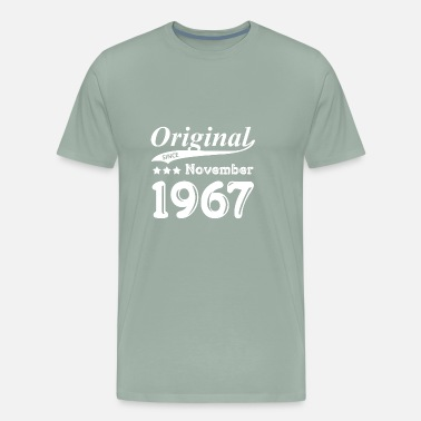 Born In November 1967 Original Since November 1967 Gift - Men's Premium T-Shirt