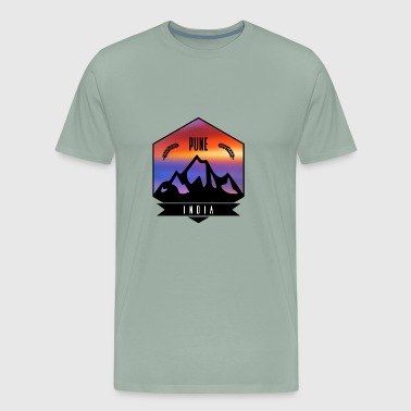 Pune India - Men's Premium T-Shirt