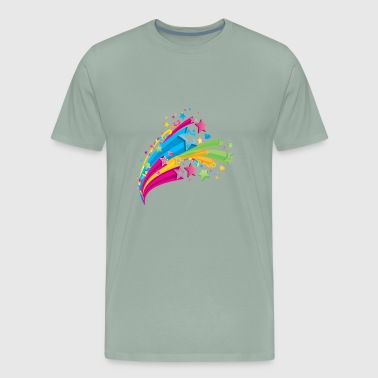 Colorful Splash - Men's Premium T-Shirt