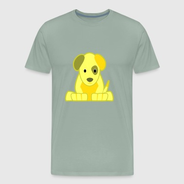 yellow dog - Men's Premium T-Shirt