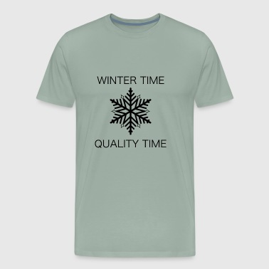 QUALITY TIME WINTER - Men's Premium T-Shirt
