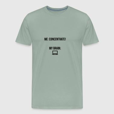 "Concentrate"" - Men's Premium T-Shirt"