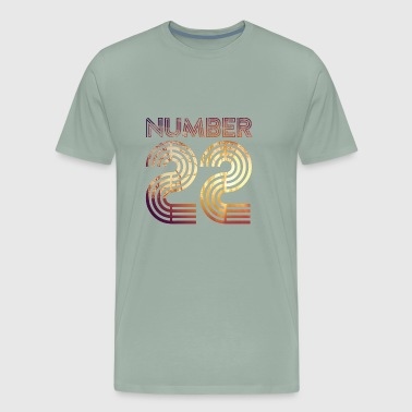 Number 22 - Men's Premium T-Shirt
