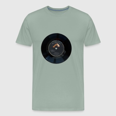 Elvis Vinyl from 1956 - Men's Premium T-Shirt