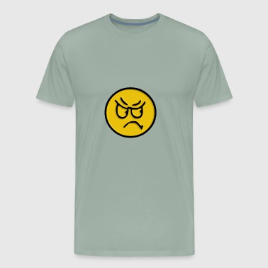 Angry Smiley - Men's Premium T-Shirt