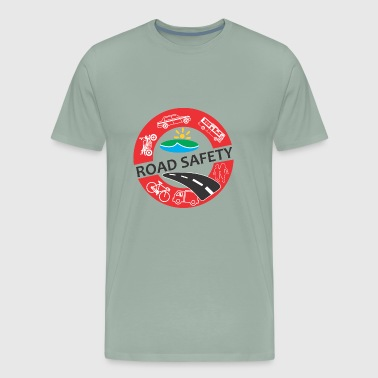Safety Engineer Road safety - Men's Premium T-Shirt